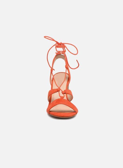 Sandales et nu-pieds Mellow Yellow Brune Orange vue portées chaussures