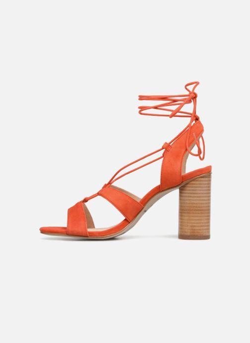 Sandales et nu-pieds Mellow Yellow Brune Orange vue face