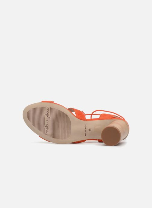 Sandales et nu-pieds Mellow Yellow Brune Orange vue haut