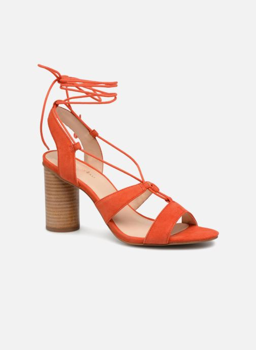 Sandales et nu-pieds Mellow Yellow Brune Orange vue détail/paire