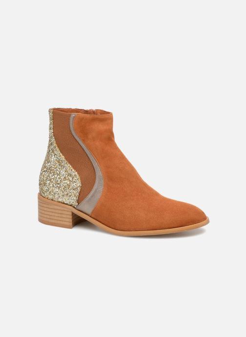 213cc054f37 Mellow Yellow Cecily (Or et bronze) - Bottines et boots chez Sarenza ...