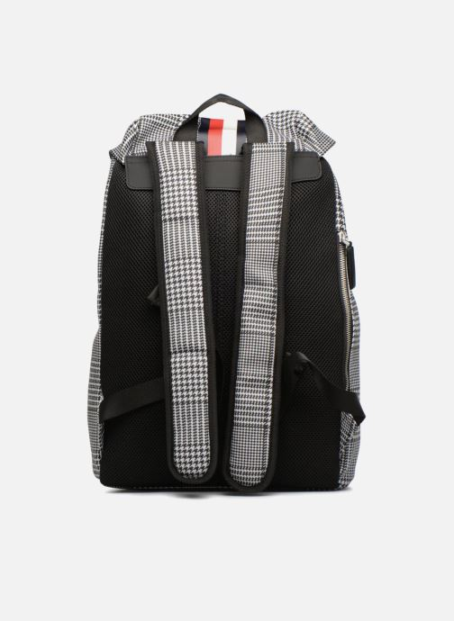 Sacs à dos Tommy Hilfiger BLOCK STRIPE BACKPACK Gris vue face