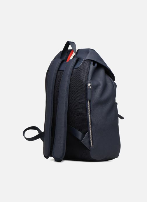 Mochilas Tommy Hilfiger BLOCK STRIPE BACKPACK Azul vista lateral derecha