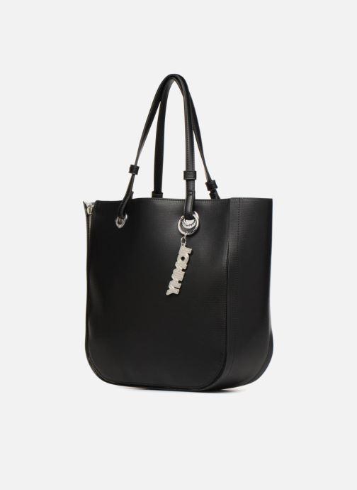 Handtassen Tommy Hilfiger TOMMY TWIST TOTE Zwart model