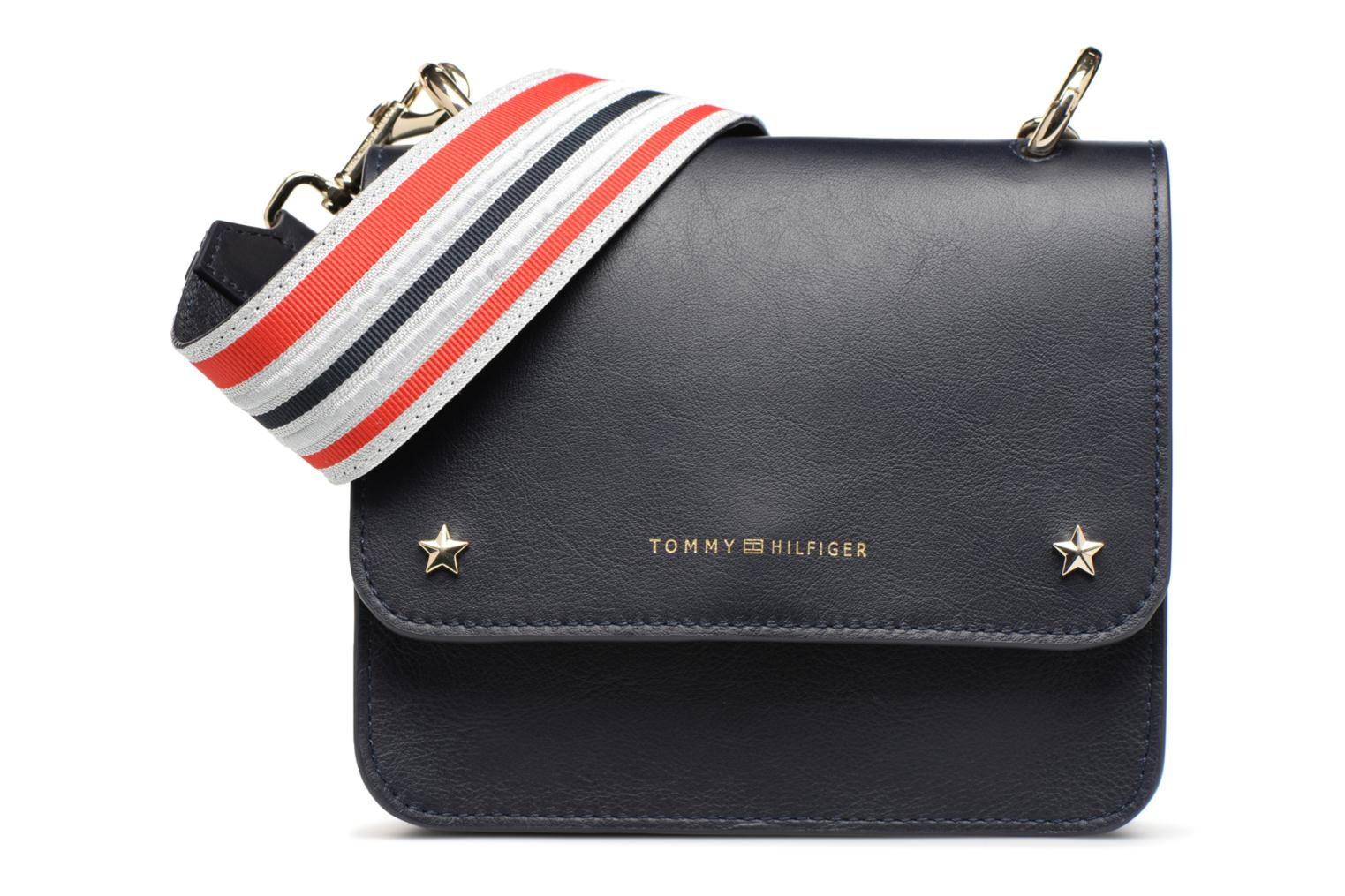 Sacs à main Tommy Hilfiger TOMMY LEATHER MINI CROSSOVER Bleu vue détail/paire