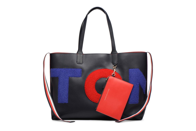Sacs à main Tommy Hilfiger ICONIC TOMMY TOTE Bleu vue détail/paire