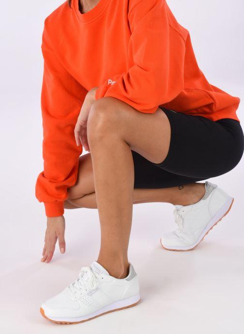 Sneaker Skechers OG 85 Old School Cool weiß ansicht von unten / tasche getragen