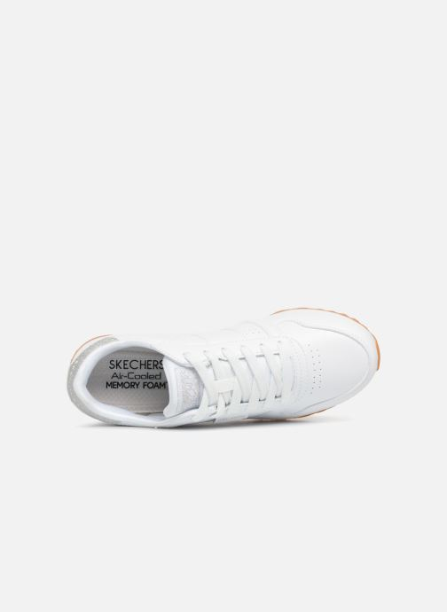 Baskets Skechers OG 85 Old School Cool Blanc vue gauche