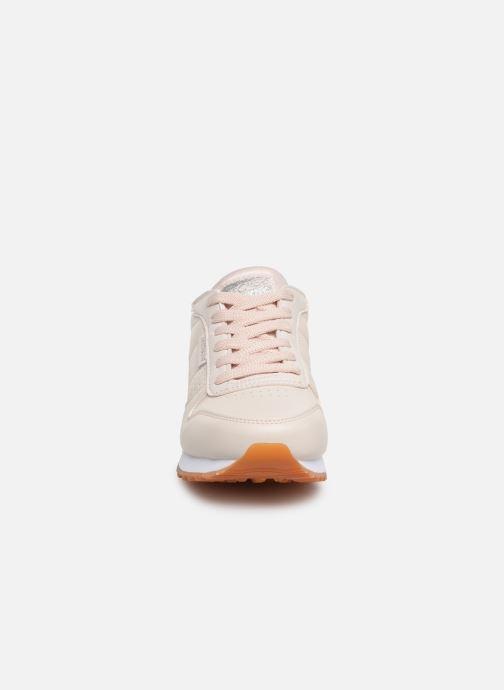 Baskets Skechers OG 85 Old School Cool Rose vue portées chaussures