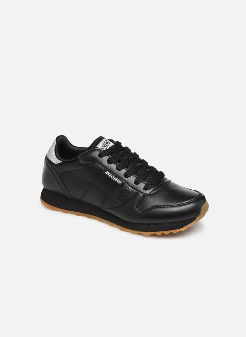 Trainers Skechers OG 85 Old School Cool Black detailed view/ Pair view