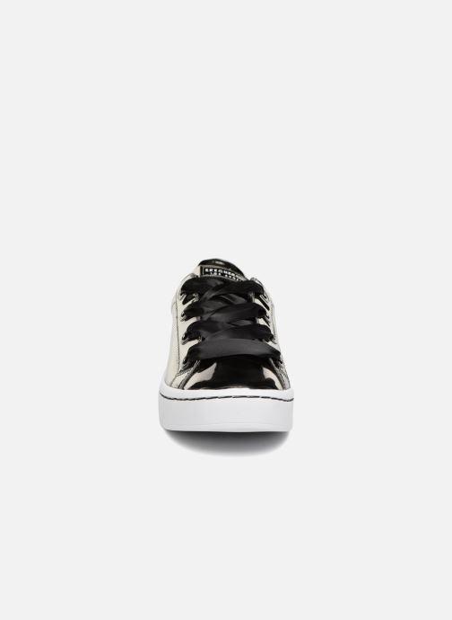 Sneaker Skechers Hi-Lite Liquid Bling silber schuhe getragen