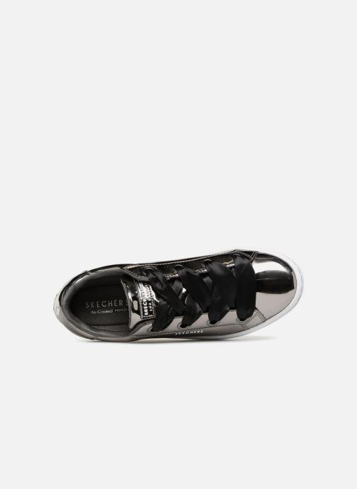Sneaker Skechers Hi-Lite Liquid Bling silber ansicht von links