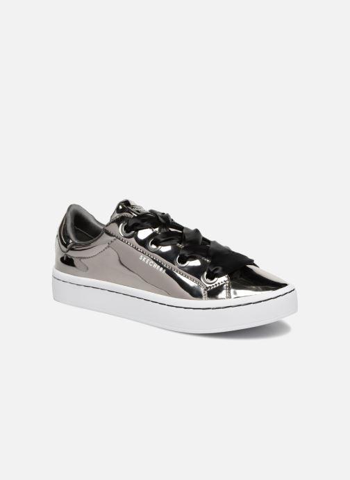 Sneakers Skechers Hi-Lite Liquid Bling Silver detaljerad bild på paret