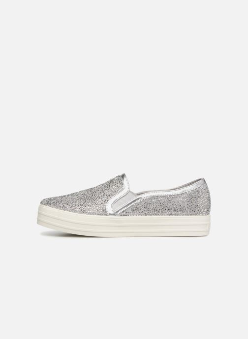 Glitzy Sneaker Double Up 338165 Gal silber Skechers qZEgW