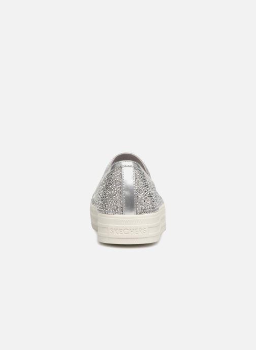 Sneakers Skechers Double Up Glitzy Gal Silver Bild från höger sidan
