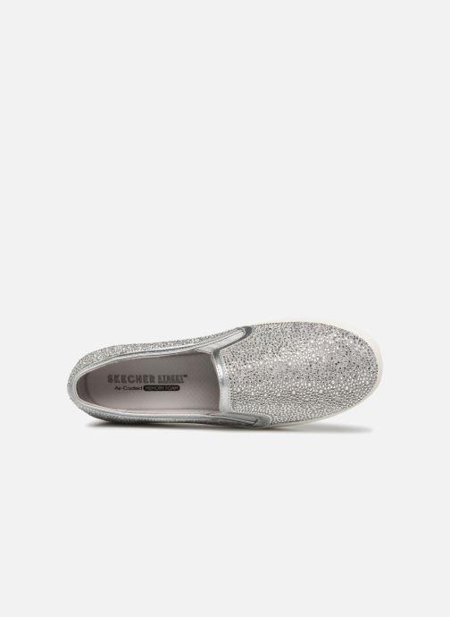 Sneakers Skechers Double Up Glitzy Gal Silver bild från vänster sidan