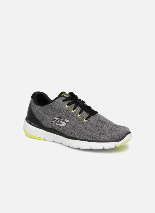Zapatillas de deporte Skechers Flex Advantage 3.0 Stally Gris vista de detalle / par