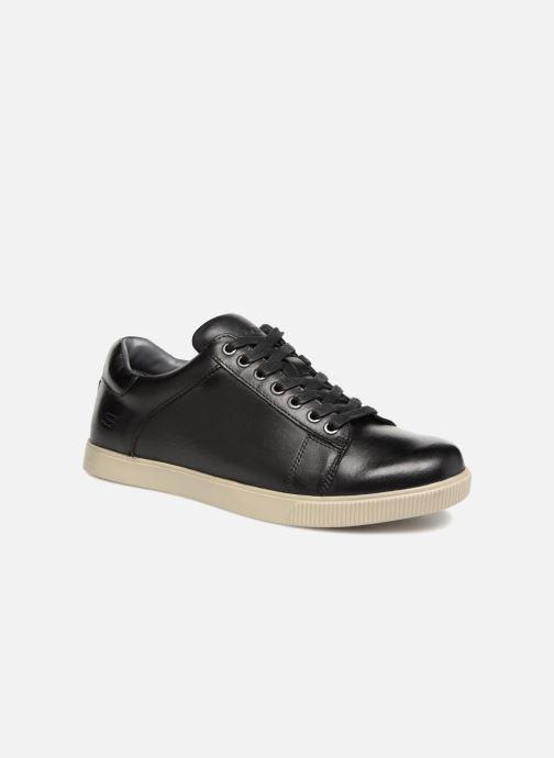 Buy Skechers Volden Fandom Mens Sneaker Oxfords Black 11 at