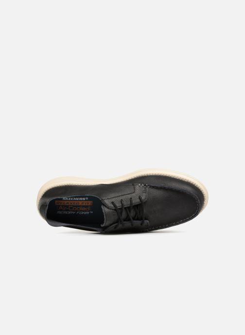 Schnürschuhe Skechers Status Lerado schwarz ansicht von links