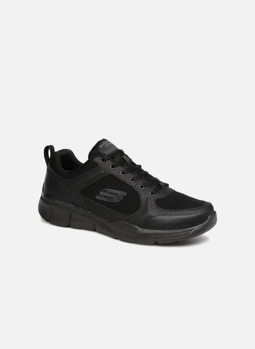 huge discount 68740 df6b6 Chaussures de sport Skechers Equalizer 3.0 Deciment Noir vue détail paire