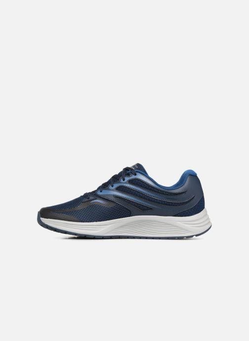 Zapatillas de deporte Skechers Skyline Brightshore Azul vista de frente