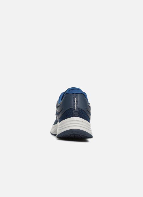 Zapatillas de deporte Skechers Skyline Brightshore Azul vista lateral derecha