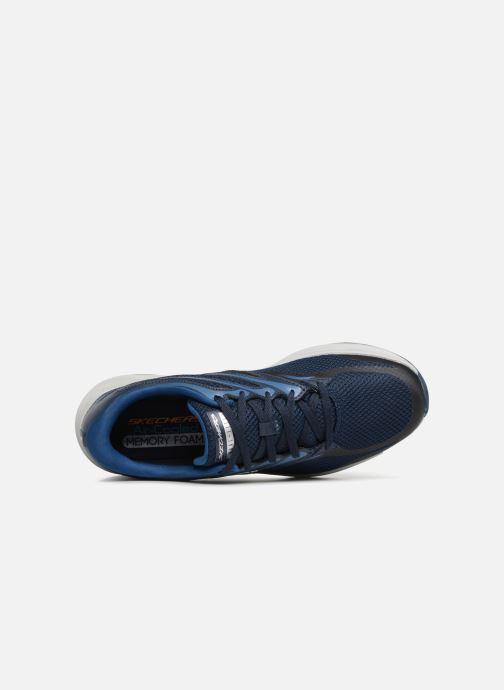 Zapatillas de deporte Skechers Skyline Brightshore Azul vista lateral izquierda