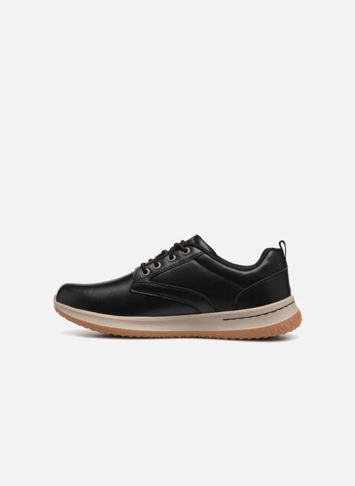 Sneakers Skechers Delson Antigo Sort se forfra
