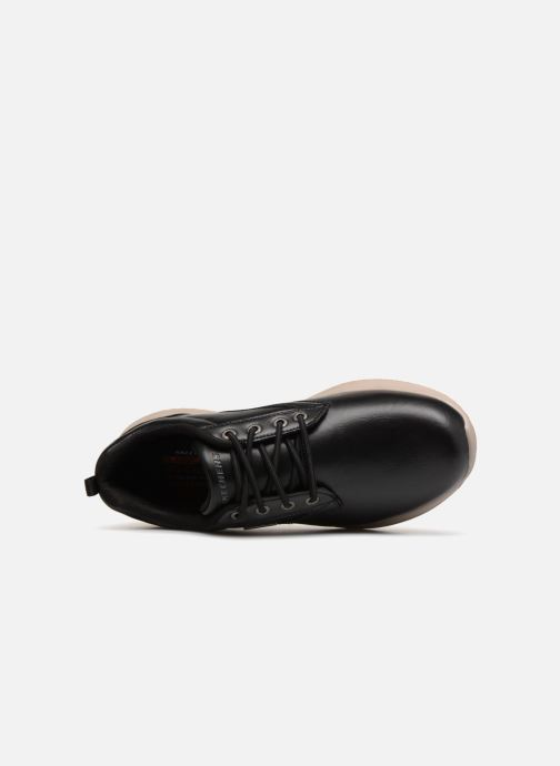 Baskets Skechers Delson Antigo Noir vue gauche