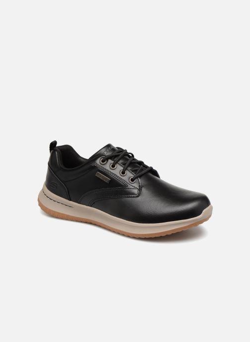 Sneakers Skechers Delson Antigo Sort detaljeret billede af skoene