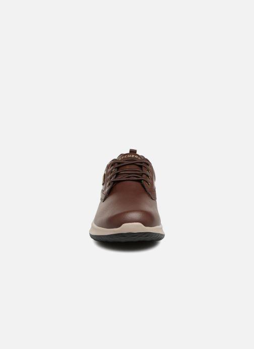 Sneakers Skechers Delson Antigo Brun bild av skorna på
