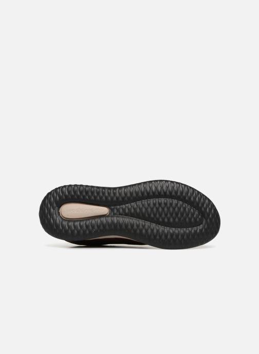 Sneakers Skechers Delson Antigo Brun bild från ovan