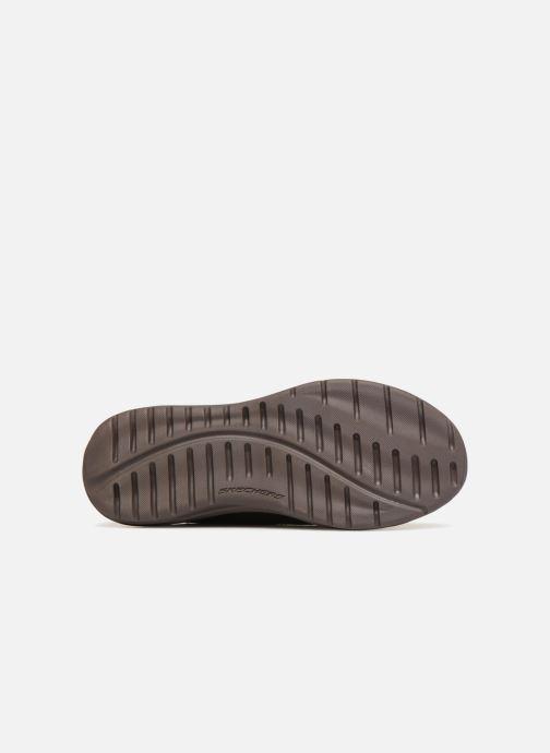 Zapatos con cordones Skechers Harsen Artson Marrón vista de arriba
