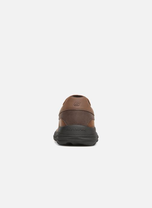 Loafers Skechers Harsen Ortego Brown view from the right