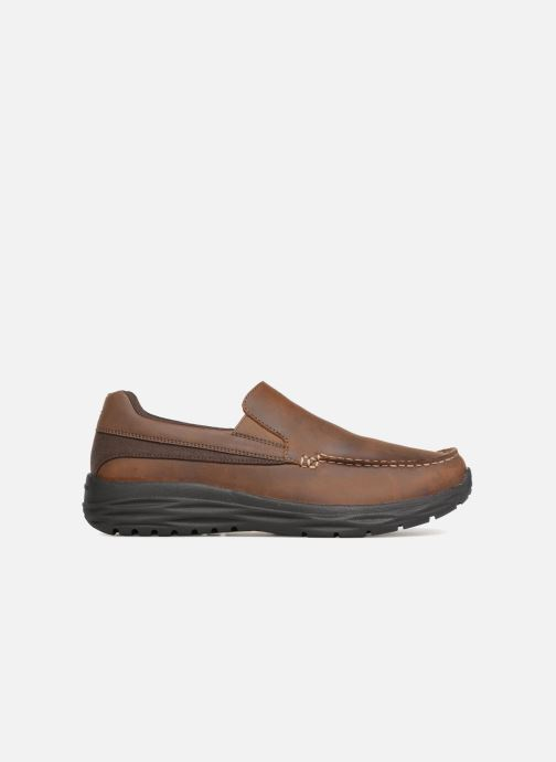 Loafers Skechers Harsen Ortego Brown back view