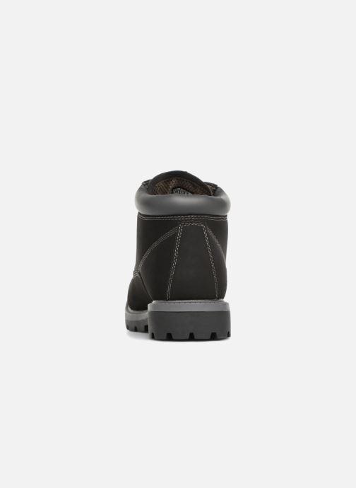 Botines  Skechers Toric Amado Negro vista lateral derecha
