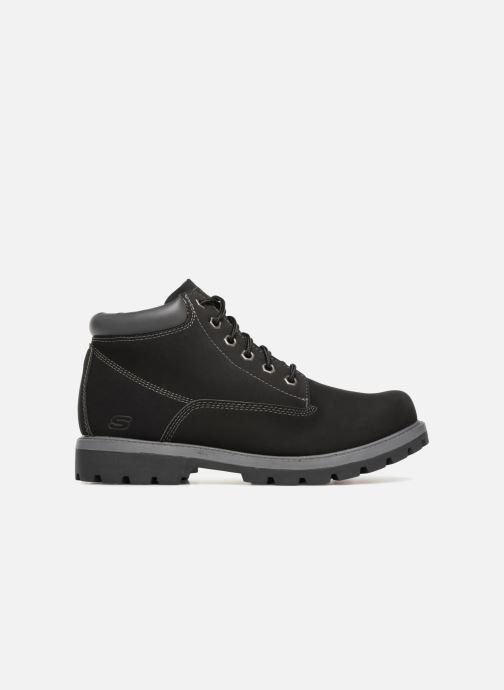 Boots en enkellaarsjes Skechers Toric Amado Zwart achterkant