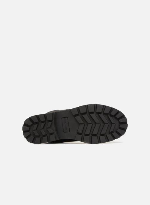 Botines  Skechers Toric Amado Negro vista de arriba