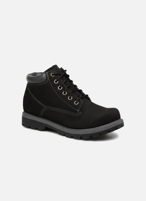 Boots en enkellaarsjes Skechers Toric Amado Zwart detail
