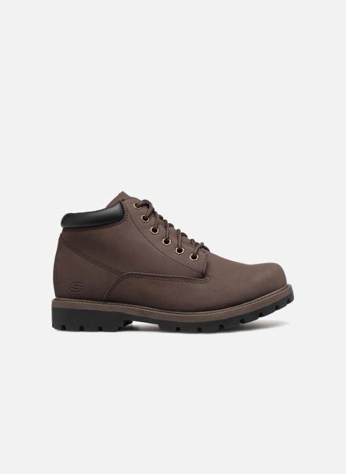 Stiefeletten & Boots Skechers Toric Amado braun ansicht von hinten