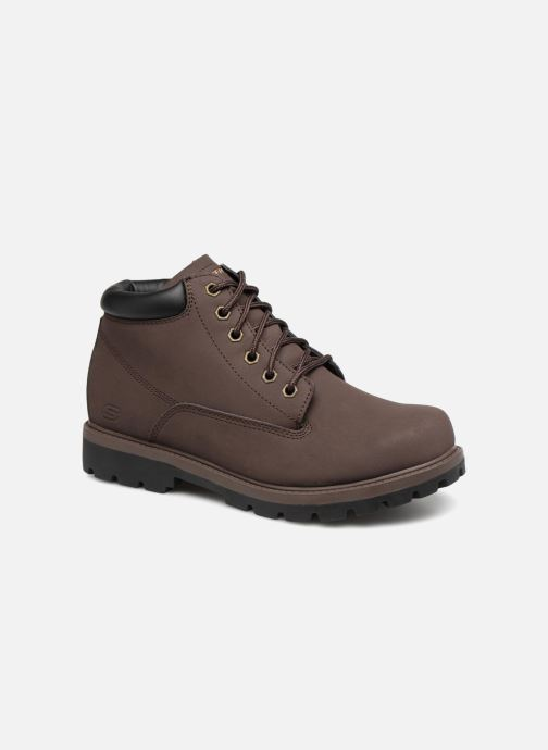 Stiefeletten & Boots Skechers Toric Amado braun detaillierte ansicht/modell