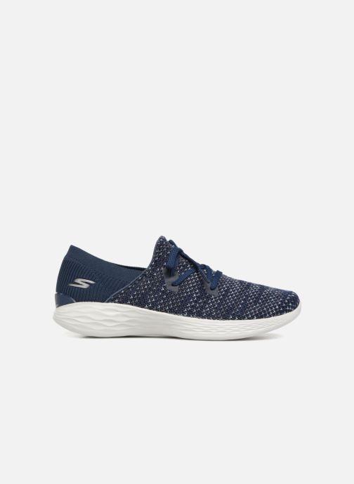 Sneakers Skechers You Prominence Blå bild från baksidan