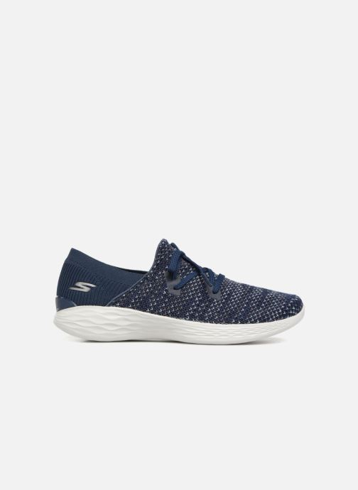 Baskets Skechers You Prominence Bleu vue derrière