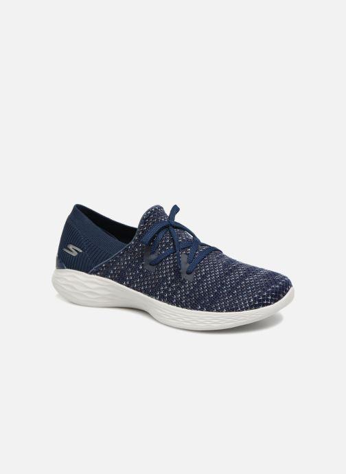 Baskets Skechers You Prominence Bleu vue détail/paire