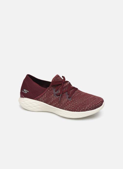 Sneakers Skechers You Prominence Bordeaux detaljeret billede af skoene