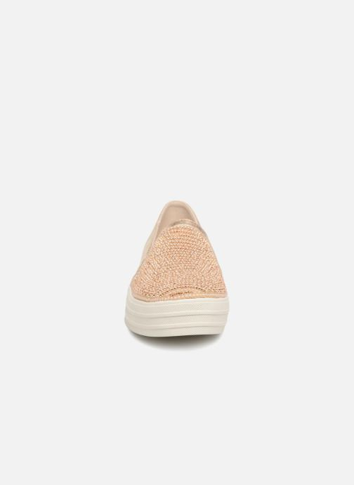Sneaker Skechers Double Up Shiny Dancer W gold/bronze schuhe getragen