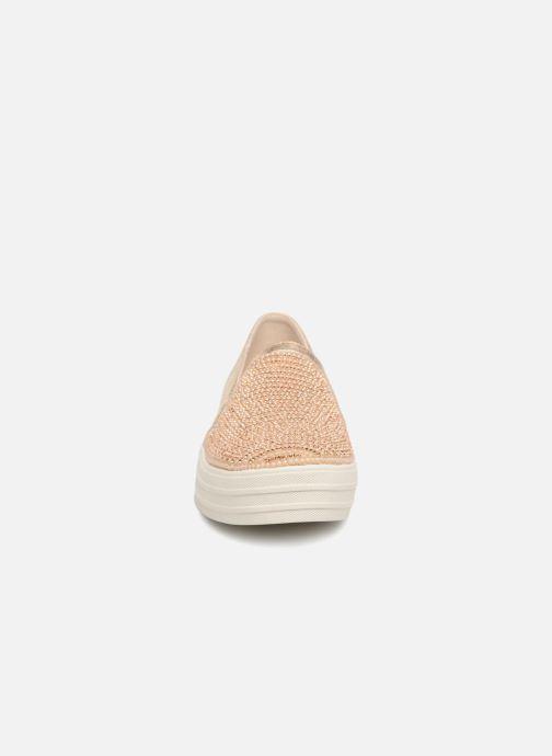 Sneakers Skechers Double Up Shiny Dancer W Bronze och Guld bild av skorna på