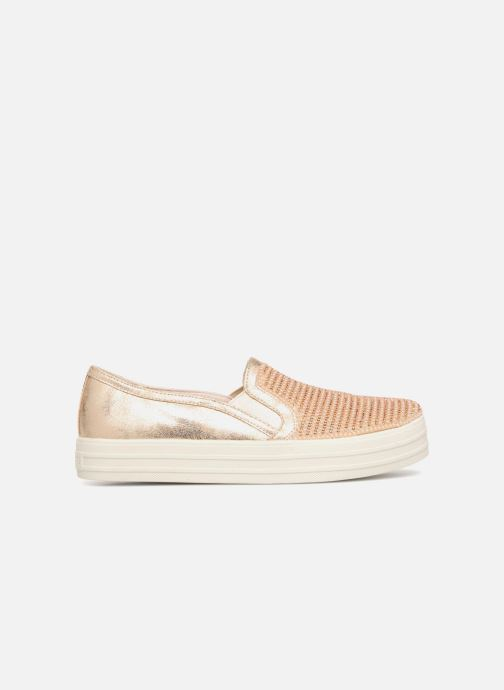 Sneakers Skechers Double Up Shiny Dancer W Bronze och Guld bild från baksidan