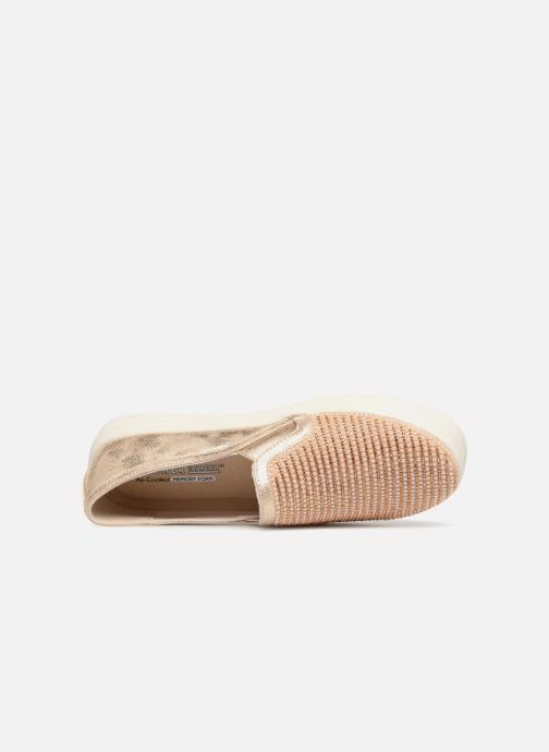 Sneaker Skechers Double Up Shiny Dancer W gold/bronze ansicht von links