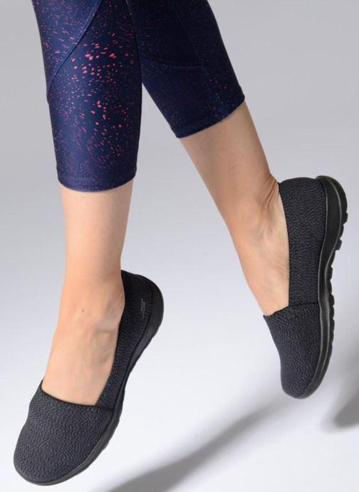 Sneakers Skechers Go Walk Lite Smitten Svart bild från under